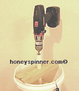Drill Honey Extractor
